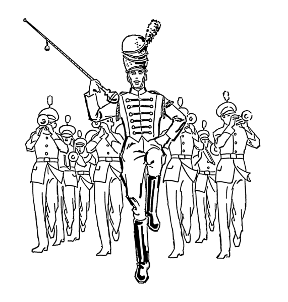 153995 Marching Band Icons Set together with 4th 20of 20July 20Clip 20Art 20Pg 203 additionally Stock Illustration Warriors Series Roman Army Equipment Vector Image58900924 in addition Royalty Free Stock Photo South Korea Image3801265 besides Fashion show. on parade vector graphics