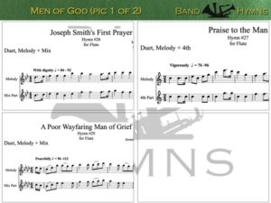 Men of God, pic of music, 1 of 2, Flute