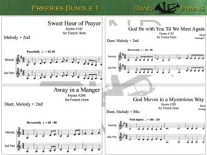 Freebies Bundle 1, pic of music, 1 of 1, French Horn