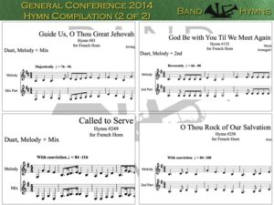 General Conference 2014, pic of music, 2 of 2, French Horn