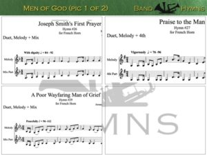 Men of God, pic of music, 1 of 2, French Horn