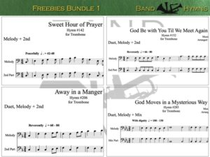 Freebies Bundle 1, pics of music in compilation, 1 of 1, trombone
