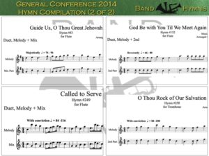 General Conference 2014, pic of music, 2 of 2, Flute