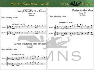 Men of God, pic of music, 1 of 2, Flute