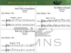Men of God, pic of music, 2 of 2, Flute